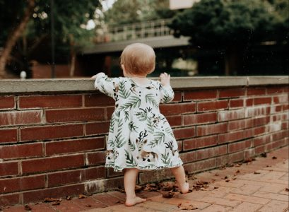 Affordable Baby Girl Clothing Review | Aliexpress baby outfit inspiration on Babies, Love, and Lattes a motherhood and lifestyle blog by popular North Carolina blogger Jessica Linn.