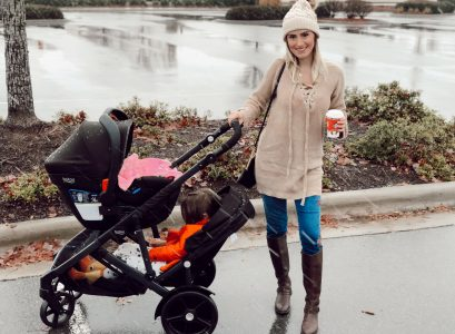 Britax B-Ready Stroller Review | Baby gear review by Babies, Love, & Lattes a motherhood and lifestyle blog by popular North Carolina blogger Jessica Linn.