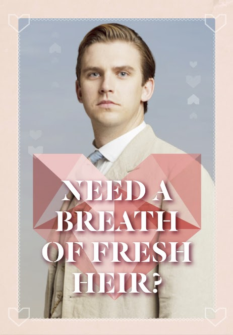 Free Downton Abbey Valentine Cards!