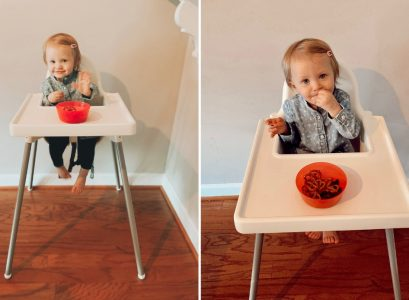 The Best Affordable High Chair 2019 | IKEA ANTILOP Review I decided to save money and buy the $20 high chair instead of the $200 high chair. Let me tell you, I am SO glad I did! It is the best affordable high chair. High chair review by Babies, Love, & Lattes a motherhood and lifestyle blog by North Carolina blogger Jessica Linn.