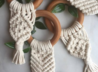Cute Baby Teething Toys | Stylish baby toys featured on Babies, Love, & Lattes a motherhood and lifestyle blog by popular North Carolina blogger, Jessica Linn.
