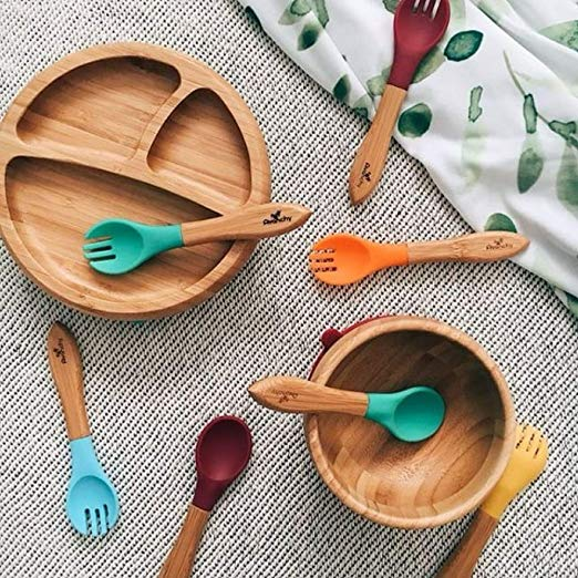 Baby & Kid Dishes | Cute Dishes, cups, bowls, plates, & utensils for kids and babies. bamboo silicone