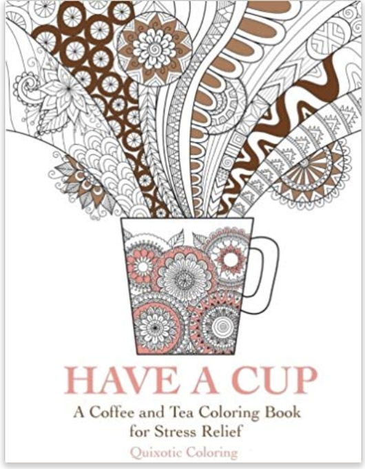 Gifts Ideas For Coffee Lovers | Coffee Adult Coloring Book