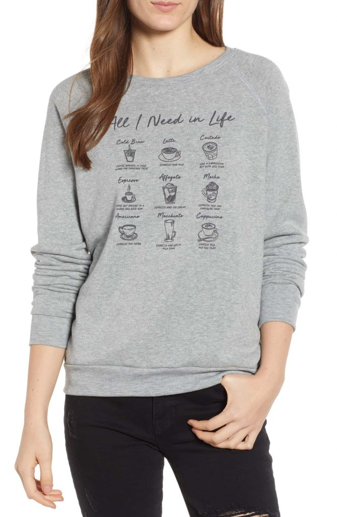 Gifts Ideas For Coffee Lovers | Coffee Sweater