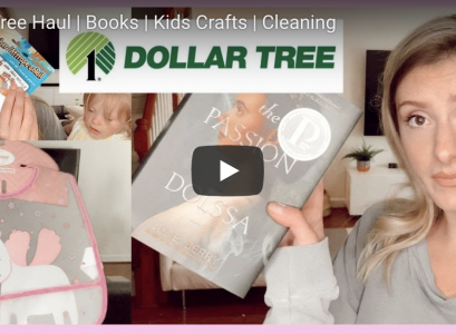 Dollar Tree Haul | Motherhood Youtube Channel by Jessica Linn