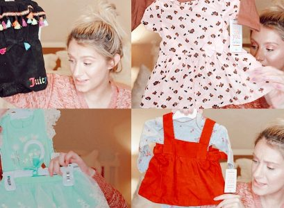 Huge Affordable Baby Girl Clothing Haul by Jessica Linn