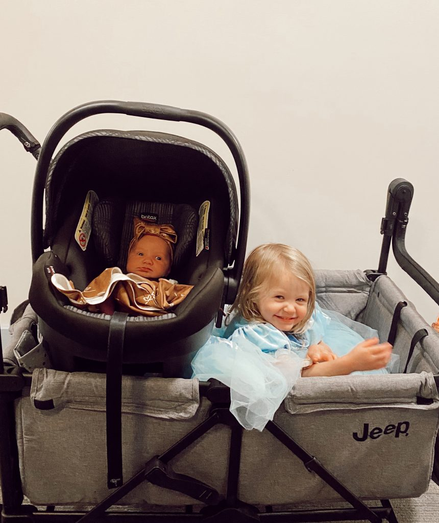 Jeep Wrangler Stroller Wagon Review | Babies Love and Lattes by Jessica Linn