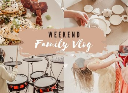 Day In The Life Of A Family Of 5 Lazy | Weekend Vlog | Crafts | Dance Parties by Jessica Linn